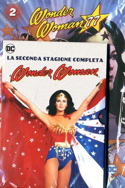 Wonder Woman '77 (Dvd+Fumetto) - N° 2 - Wonder Woman '77 - Rw Lion