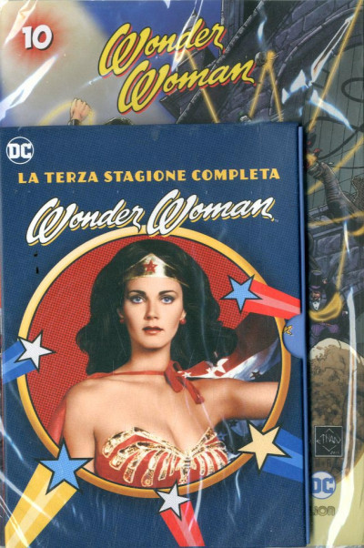 Wonder Woman '77 (Dvd+Fumetto) - N° 10 - Wonder Woman '77 - Rw Lion