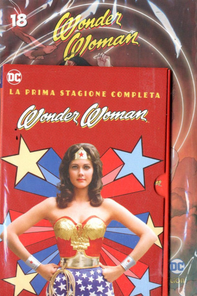 Wonder Woman '77 (Dvd+Fumetto) - N° 18 - Wonder Woman '77 - Rw Lion