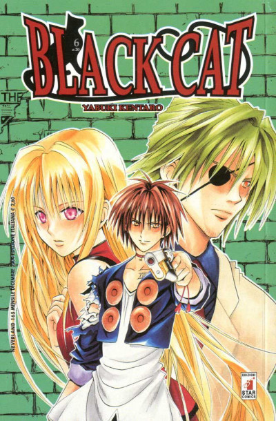 Black Cat - N° 6 - Black Cat (M20) - Neverland Star Comics