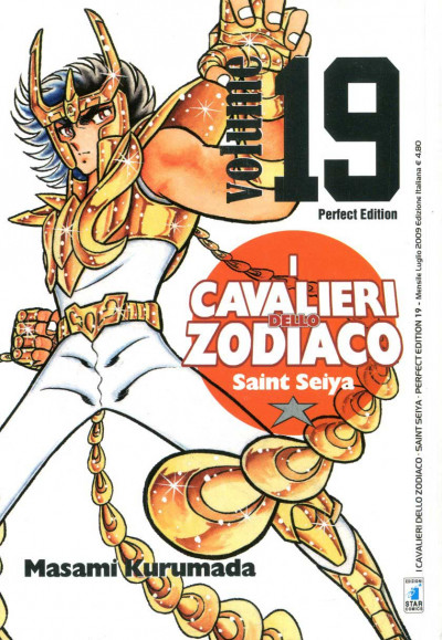 Cavalieri Zodiaco - N° 19 - Saint Seiya Perfect Edition (M22) - Star Comics
