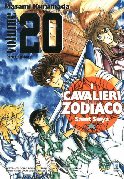 Cavalieri Zodiaco - N° 20 - Saint Seiya Perfect Edition (M22) - Star Comics