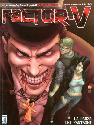Factor V - N° 4 - La Danza Dei Fantasmi - Factor V (M6) Star Comics