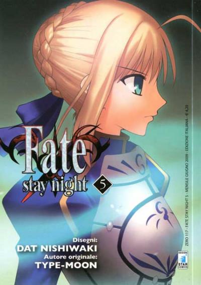 Fate Stay Night - N° 5 - Fate Stay Night - Zero Star Comics