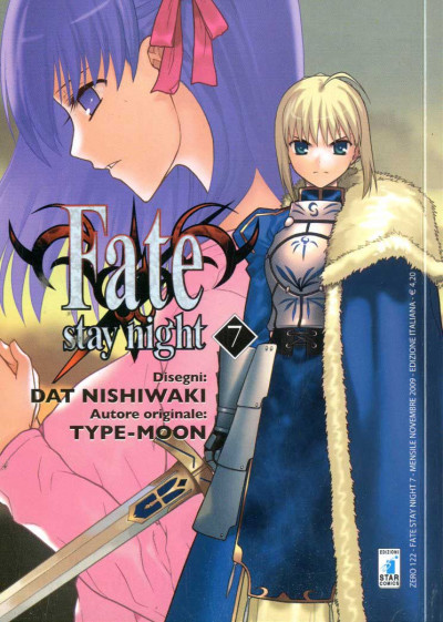Fate Stay Night - N° 7 - Fate Stay Night - Zero Star Comics