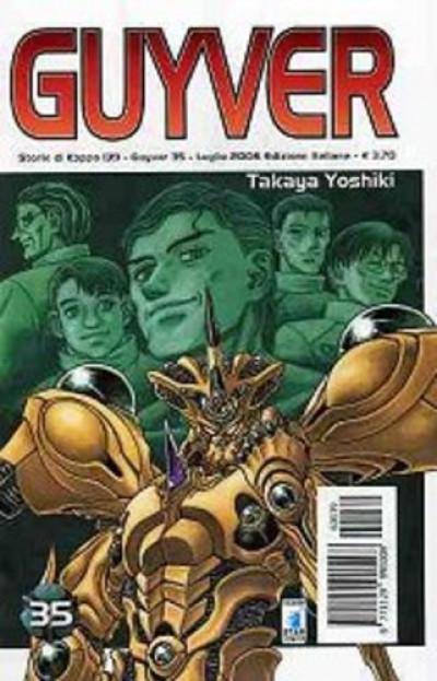 Guyver - N° 35 - Guyver 35 - Storie Di Kappa Star Comics