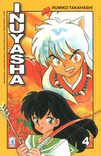 Inuyasha - N° 4 - Inuyasha (M56) - Neverland Star Comics