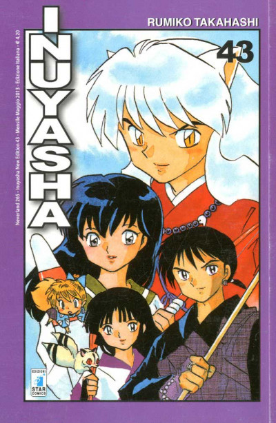 Inuyasha - N° 43 - Inuyasha (M56) - Neverland Star Comics