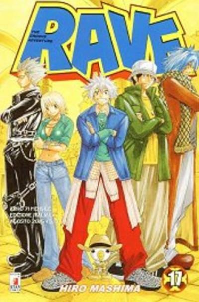 Rave - N° 17 - Rave 17 - Rave Groove Adventure Star Comics