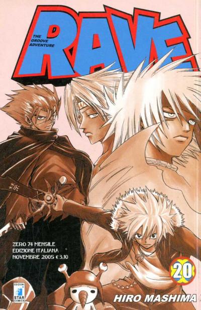 Rave - N° 20 - Rave 20 - Rave Groove Adventure Star Comics