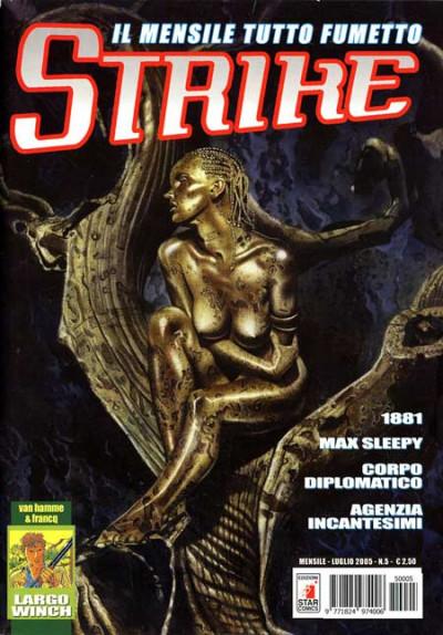 Strike - N° 5 - Il Mensile Tutto Fumetto - Star Comics