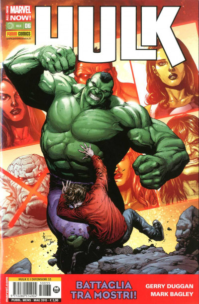 Hulk - N° 6 - Hulk - Hulk E I Difensori Marvel Italia