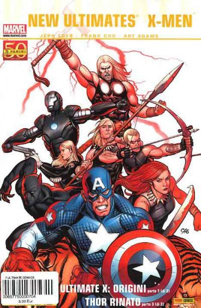 Ultimate Comics - N° 7 - New Ultimates 3 (M3)/X-Men 1 (M3) - Marvel Italia