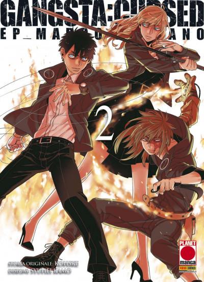 Gangsta Cursed - N° 2 - Ep_Marco Adriano - Gangsta Planet Manga