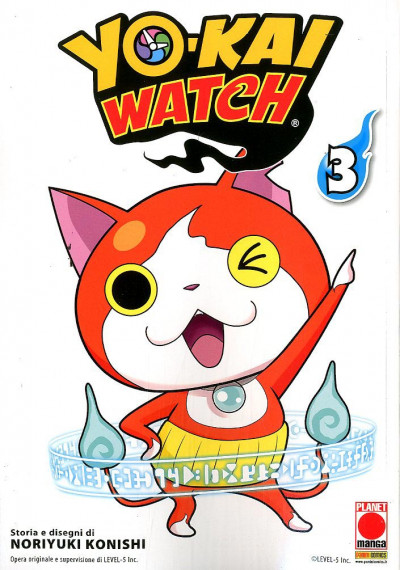 Yo-Kai Watch - N° 3 - Yo-Kai Watch - Monsters Planet Manga