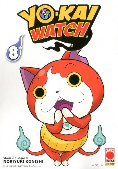 Yo-Kai Watch - N° 8 - Yo-Kai Watch - Monsters Planet Manga