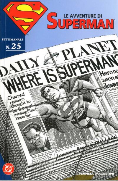 Avventure Di Superman - N° 25 - Avventure Di Superman M40 25 - Planeta-De Agostini