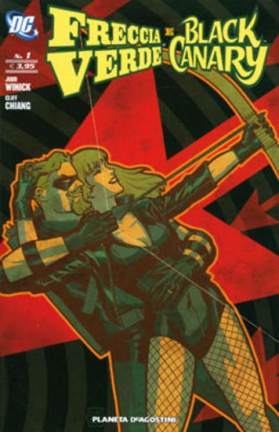 Freccia Verde Black Canary M7 - N° 1 - Freccia Verde Black Canary - Planeta-De Agostini