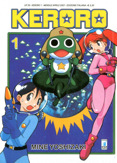 Keroro - N° 1 - Keroro - Up Star Comics