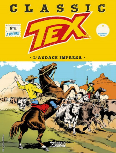 Tex Classic - N° 4 - L'Audace Impresa - Bonelli Editore