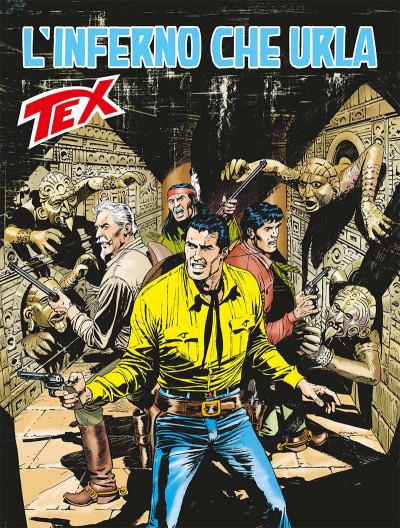 Tex Gigante - N° 675 - L'Inferno Che Urla - Tex Bonelli Editore