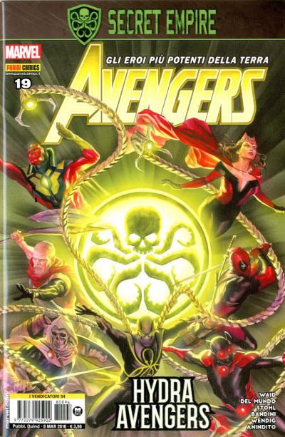 Avengers - N° 94 - Avengers - Avengers Marvel Italia