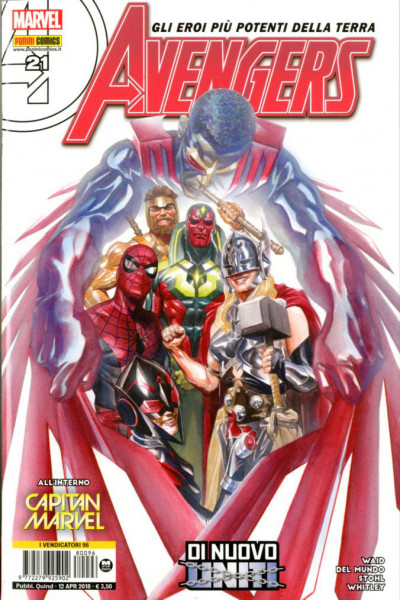 Avengers - N° 96 - Avengers - Avengers Marvel Italia