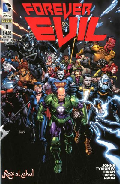 Forever Evil - N° 1 - Forever Evil - Dc Bad World Rw Lion