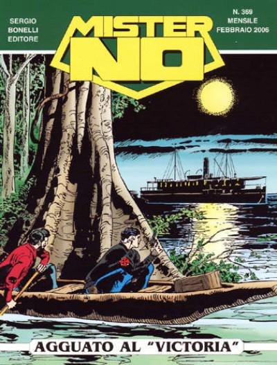 Mister No - N° 369 - Agguato Al Victoria - Bonelli Editore