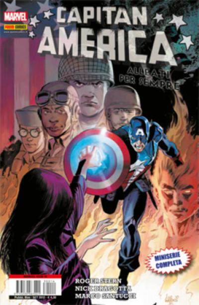 Marvel Icon - N° 14 - Capitan America: Alleati Per Sempre - Marvel Italia
