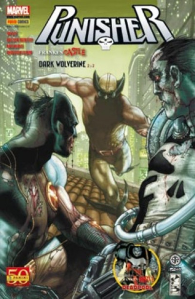 Marvel Universe - N° 8 - Punisher 5: Frankencastle Vs. Dark Wolverine 2 M2 - Marvel Italia