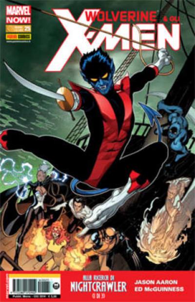 Wolverine E Gli X-Men - N° 25 - Wolverine E Gli X-Men - Marvel Italia