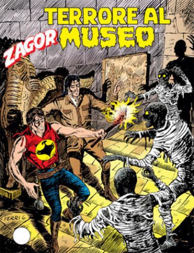 Zenith Gigante - N° 521 - Terrore Al Museo - Zagor Bonelli Editore