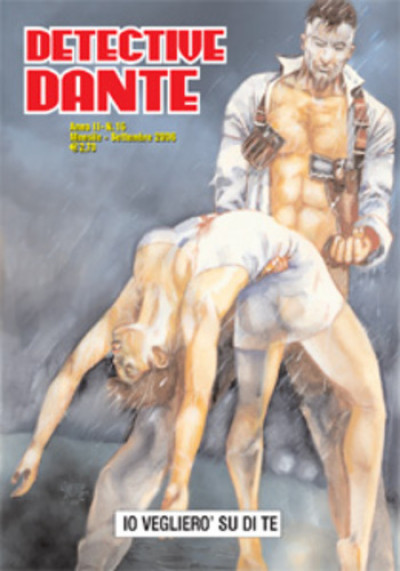 Detective Dante - N° 16 - Io Vegliero' Su Di Te - Editoriale Aurea