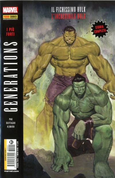 Generations - N° 1 - I Piu' Forti: Hulk & Il Fichissimo Hulk - Marvel Italia