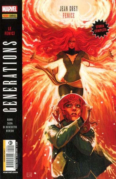 Generations - N° 2 - La Fenice - Jean Grey & Fenice - Marvel Italia