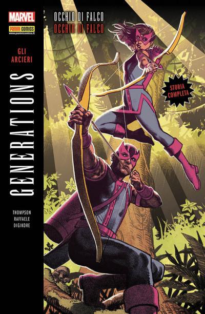 Generations - N° 5 - Arcieri - Occhio Di Falco & Occhio Di Falco - Marvel Italia