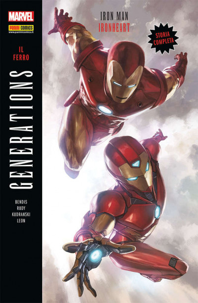Generations - N° 6 - Iron Man & Ironheart - Il Ferro - Marvel Italia