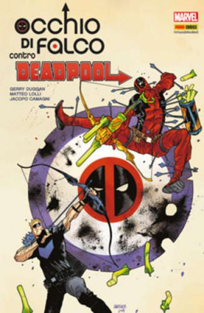 Marvel Icon - N° 25 - Occhio Di Falco Contro Deadpool - Marvel Italia