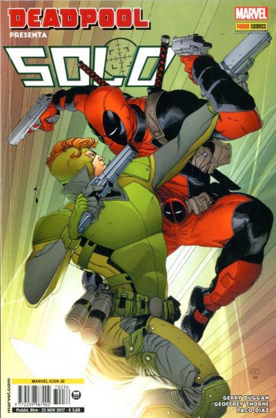 Marvel Icon - N° 36 - Deadpool Presenta: Solo - Marvel Italia