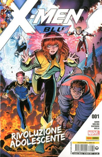 Nuovissimi X-Men - N° 52 - X-Men Blu - X-Men Blu Marvel Italia