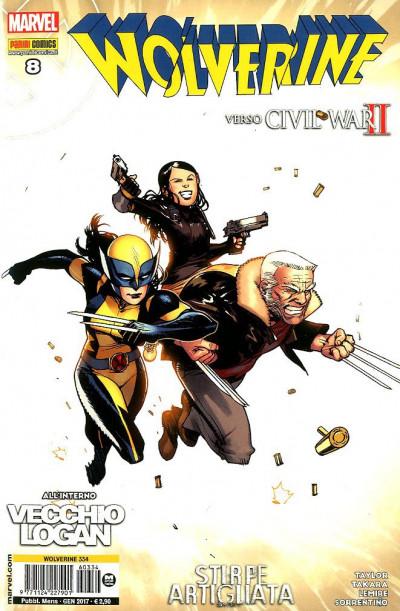 Wolverine - N° 334 - Wolverine 8 - Marvel Italia