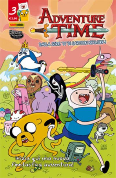 Adventure Time - N° 3 - Panini Time 3 - Panini Comics