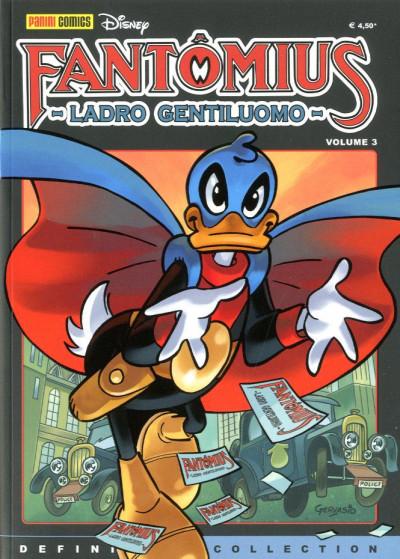 Disney Definitive Coll. Rist. - N° 9 - Fantomius Ladro Gentiluomo 3 - Panini Comics
