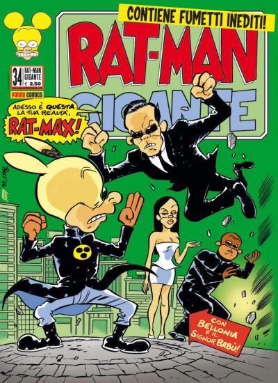 Rat-Man Gigante - N° 34 - Rat-Man Gigante - Panini Comics