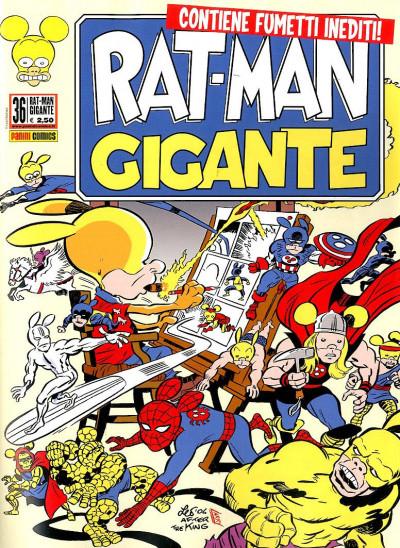 Rat-Man Gigante - N° 36 - Rat-Man Gigante - Panini Comics