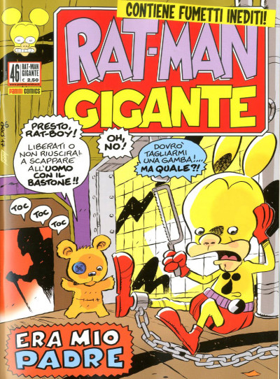 Rat-Man Gigante - N° 46 - Rat-Man Gigante - Panini Comics