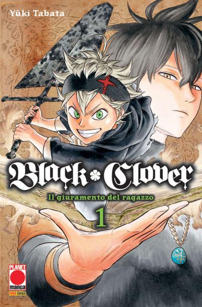 Black Clover - N° 1 - Black Clover - Purple Planet Manga