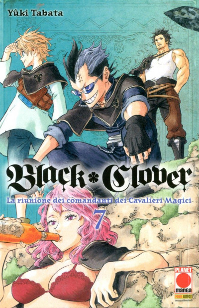 Black Clover - N° 7 - Black Clover - Purple Planet Manga