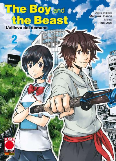 Boy And The Beast (M4) - N° 2 - L'Allievo Del Demone - Manga Storie Nuova Serie Planet Manga